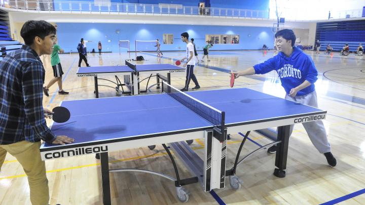 Drop-in Table Tennis