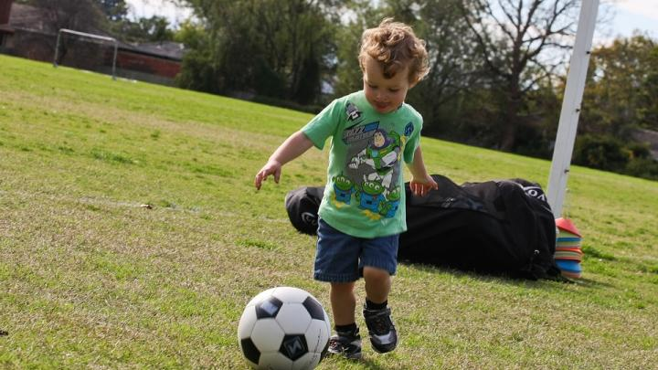 Soccer with Caregiver (2-5yrs)